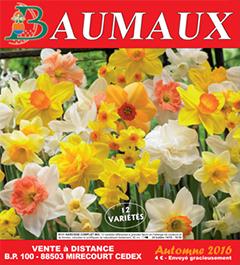 Couverture Catalogue Automne 2016 - Graines Baumaux