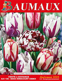 Couverture catalogue automne 2015