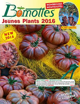 Couverture catalogue BOMOTTES printemps 2016