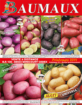 Couverture catalogue printemps 2014