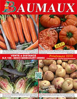 Couverture catalogue printemps 2015