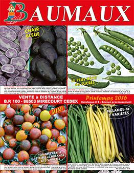 Couverture catalogue printemps 2016