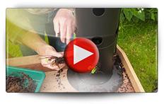 Culture de fraisiers en racines nues avec la tour de fleur - Vidéo BAUMAUX