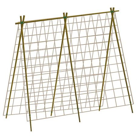 FILETS à RAMER BIODÉGRADABLES 1,80 m x 1,80 m