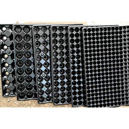 PLAQUES de SEMIS-BOUTURAGE RÉCUPÉRABLES 54 alvéoles de 4,4 cm de Ø
