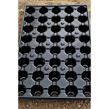 PLAQUES de SEMIS-BOUTURAGE RÉCUPÉRABLES 40 alvéoles de 4,8 cm de Ø
