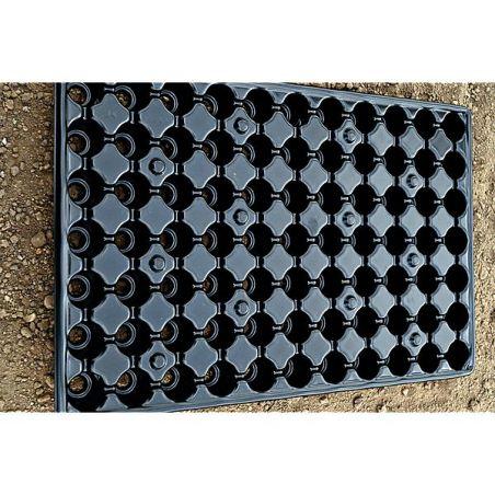 PLAQUES de SEMIS-BOUTURAGE RÉCUPÉRABLES 77 alvéoles de 3,4 cm de Ø