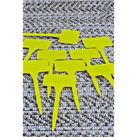 ÉTIQUETTES PLASTIQUES à ficher 13,5 cm de haut