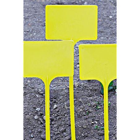 ÉTIQUETTES PLASTIQUES à ficher 54 cm de haut