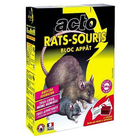 BLOCS APPÂTS RATS-SOURIS