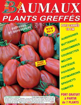 Catalogue Plants greffés - Printemps 2017