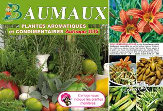 Catalogue Aromatiques Automne 2018 - Graines Baumaux