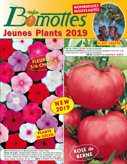 Couverture du catalogue Bomottes 2019