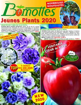 Couverture du catalogue Bomottes 2020