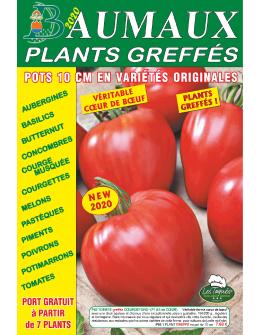 Couverture du catalogue Plants Greffés 2020