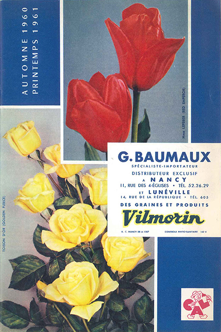 Catalogue baumaux printemps 1961